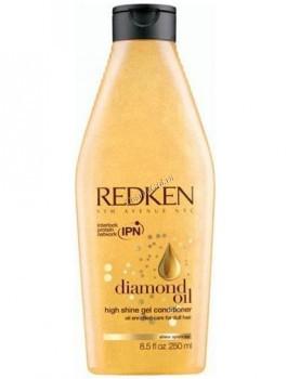 Redken Diamond oil high shine conditioner (Кондиционер для тонких волос, обогащенный маслами) - купить, цена со скидкой