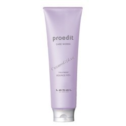 Lebel Proedit hair treatment bounce fit (Восстанавливающая маска для поврежденных волос). - купить, цена со скидкой