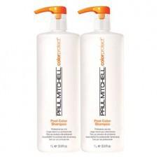 Paul Mitchell Color Protect Post Color Shampoo (Шампунь-стабилизатор цвета),  1000 мл. - купить, цена со скидкой