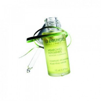 LA BIOSTHETIQUE SkinCare Purete Visarome lntoxine Эссенциальные масла,усиливающие метаболизм тусклой,загрязненной жирной кожи и кожи с постакне 15мл - купить, цена со скидкой