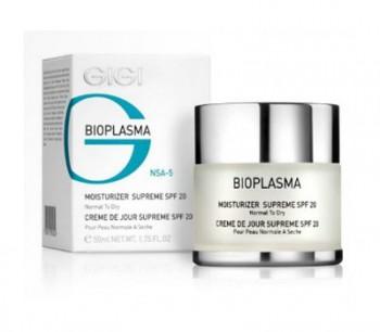 GIGI / Moist Supreme SPF 20 (Крем увлажняющий для нормальной и сухой кожи с SPF 20), 200 мл. - купить, цена со скидкой