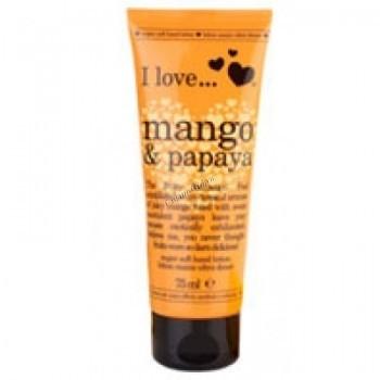Alessandro Ice cream Mango-Papaya (Легкий увлажняющий крем для рук с ароматом Манго-Папайа), 75 мл - купить, цена со скидкой