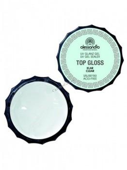 Alessandro Top gloss gel transparent (Гель для наращивания и моделирования ногтей прозрачный), 15 г - купить, цена со скидкой