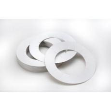 Tessiltaglio Бумажные кольца на банки с воском, 10 шт. - купить, цена со скидкой