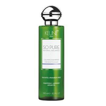 Keune so pure natural balance calming shampoo (Шампунь успокаивающий) - купить, цена со скидкой