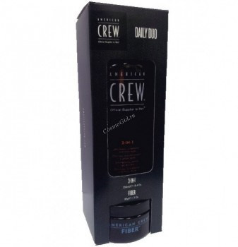 """American crew Подарочный набор """"Очищение и стайлинг"""", 2 препарата. - купить, цена со скидкой"""