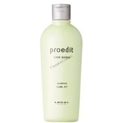 Lebel Proedit curl fit shampoo (Шампунь для кудрявых волос). - купить, цена со скидкой
