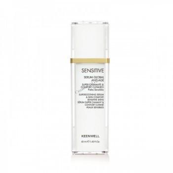 Keenwell Sensitive serum global anti-age (Омолаживающая сыворотка), 40 мл. - купить, цена со скидкой