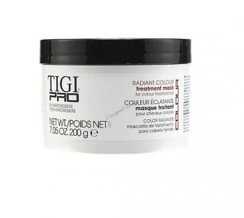 """Tigi Pro Radiant colour treatment mask (Маска для окрашенных волос """"Сияющий цвет""""), 200 мл. - купить, цена со скидкой"""