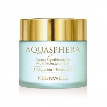 Keenwell Aquasphera super moisturizing multi-protective cream day (Дневной суперувлажняющий мультизащитный крем), 80 мл. - купить, цена со скидкой