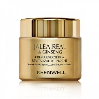Keenwell Jalea real & ginseng crema energetica revitalizante noche (Энергетический восстанавливающий ночной крем), 80 мл. - купить, цена со скидкой