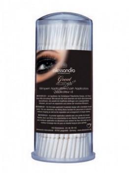 Alessandro Great lashes microbrush (Аппликаторы для ресниц), 100 шт - купить, цена со скидкой