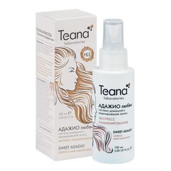 Спрей Экспресс-ламинирование волос с Аминокислотами Teana 100 мл. - купить, цена со скидкой