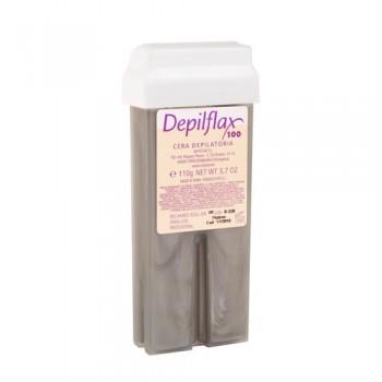"""Depilflах100 Картридж с воском """"Платиновый""""- воск с новой формулой для всех типов кожи, 110 мл - купить, цена со скидкой"""