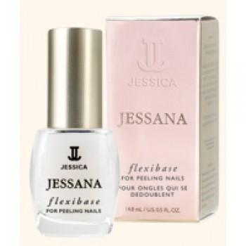 Базовое покрытие  с биотином и кальцием для мягких и тонких ногтей Flexibase for Soft, Thin Nails, JT 008, 14,8 мл - купить, цена со скидкой