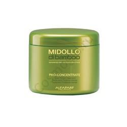 ALFAPARF Маска интенсивная для сильноповреждённых волос MIDOLLO DI BAMBOO BAMBU PRO CONCENTRATE, 500 мл - купить, цена со скидкой