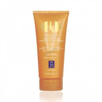 Keenwell Muisturizing & reaffirming multiprotection sun body milk (Увлажняющее подтягивающее молочко с мультизащитой), 150 мл. - купить, цена со скидкой