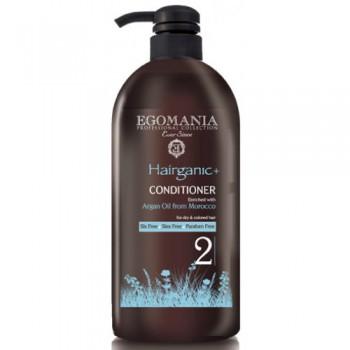 EGOMANIA Кондиционер с маслом аргана для сухих и окрашенных волос, 1000 мл - купить, цена со скидкой
