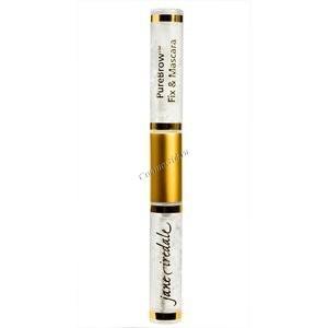 Jane Iredale Гель для бровей и ресниц «PureBrow Fix & Mascara» 6,8 мл. - купить, цена со скидкой
