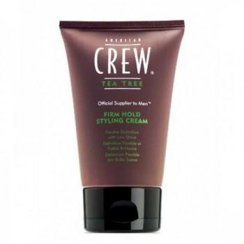 AMERICAN CREW Official Supplier to Men Tea Tree Крем для укладки волос,сильной фиксации 125мл - купить, цена со скидкой