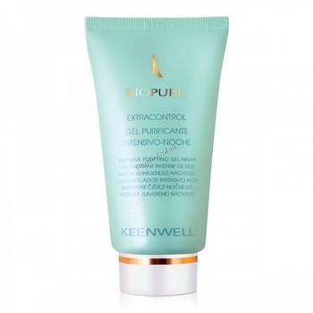 Keenwell Biopure gel purificante intensivo noche extracontrol (Ночной гель Экстраконтроль для глубокого очищения кожи), 60 мл. - купить, цена со скидкой