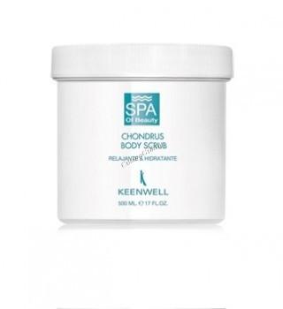 Keenwell Chondrus body scrub relajante & hidratante (Скраб для тела с хондрусом расслабляющий и увлажняющий), 500 мл. - купить, цена со скидкой