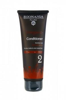 Egomania / Кондиционер с маслом облепихи для тонких, ломких и окрашенных волос, 250 мл. - купить, цена со скидкой