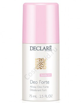Declare body harmony All-day deo forte (Роликовый дезодорант, длительная защита), 75 мл - купить, цена со скидкой