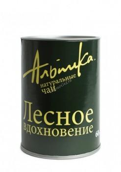Альпика Чай «Лесное вдохновение», 60 гр. - купить, цена со скидкой