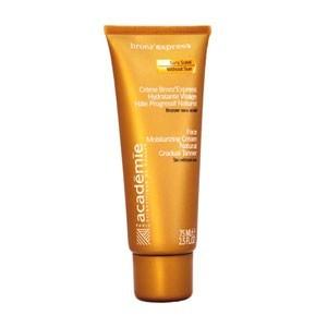 Academie Creme bronz`express hydratante (Увлажняющий крем  для лица с эффектом естественного загара), 75 мл - купить, цена со скидкой