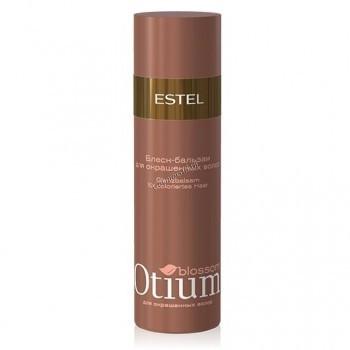 Estel De Luxe Otium Blossom Бальзам-сияние для окрашенных волос, 1000 мл. - купить, цена со скидкой