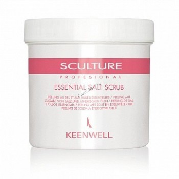 Keenwell Sculture professional essential salt scrub (Солевой скраб с эфирными маслами), 500 мл. - купить, цена со скидкой
