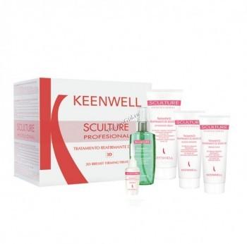 Keenwell Sculture professional 3D breast firming treatment (Лифтинг-программа для груди с 3D-эффектом), 6 средств. - купить, цена со скидкой