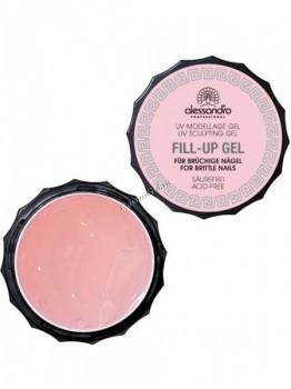 Alessandro Fill up gel (Гель для моделирования ломких и слоящихся ногтей), 15 г - купить, цена со скидкой