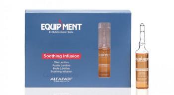 Alfaparf Eq soothing infusion (Питательный и защитный экстракт для волос), 12 шт по 13 мл. - купить, цена со скидкой