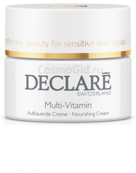 DECLARE Nourishing Multi-Vitamin Cream Питательный крем с мультивитаминами для всех типов кожи, 50 мл - купить, цена со скидкой
