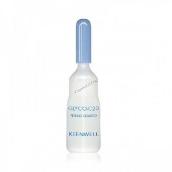 Keenwell Biologcos glyco c-20 (Сыворотка с гликолевой кислотой), 3 мл. - купить, цена со скидкой