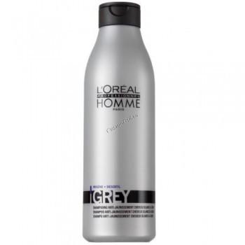 L'Oreal Professionnel Homme Grey (Шампунь Грэй), 250 мл. - купить, цена со скидкой