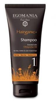 EGOMANIA Шампунь с маслом облепихи для тонких, ломких и окрашенных волос,250 мл - купить, цена со скидкой