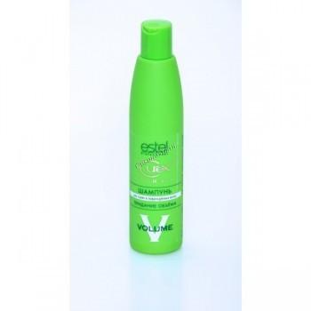 Estel professional Curex volume (Шампунь «Придание объема для сухих и поврежденных волос»), 300 мл. - купить, цена со скидкой