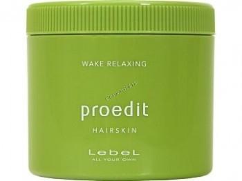 Lebel Proedit hair skin wake relaxing (Пробуждающий крем для волос и кожи головы), 360 гр. - купить, цена со скидкой