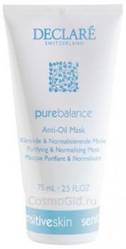 Declare pure balance Anti-oil mask (Маска для жирной и прблемной кожи), 200 мл - купить, цена со скидкой