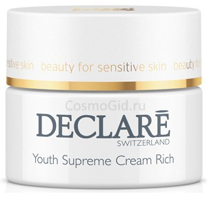 Declare youth Supreme cream rich (Питательный крем «Совершенство молодости»), 50мл  - купить, цена со скидкой
