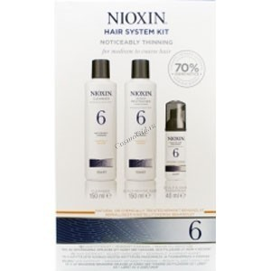 Nioxin Hair system kit system 6 (Набор 3-ступенчатой системы система 6) - купить, цена со скидкой