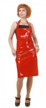 Kapous   Передник лаковый (красный) - купить, цена со скидкой