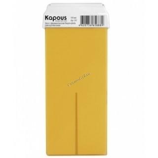Kapous  Жирорастворимый воск с эфирным маслом лицеи кубеба в картридже, 100 мл. - купить, цена со скидкой