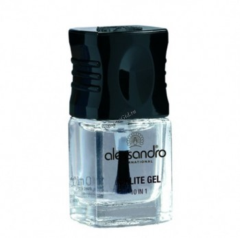 Alessandro No lite gel 10 in 1 (Лак для ногтей), 10 мл - купить, цена со скидкой
