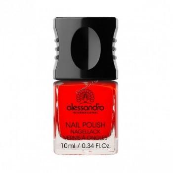 Alessandro Nail polish Colore code (Мини-лак для ногтей - 99 оттенков), 10 мл - купить, цена со скидкой