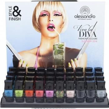 Alessandro Viva la diva style & finish 3 fold (Набор для маникюра) - купить, цена со скидкой