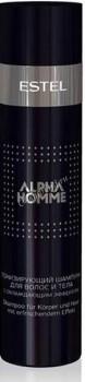 Estel De Luxe Otium Alpha Homme Шампунь тонизирующий с охлаждающим эффектом для волос и тела - купить, цена со скидкой